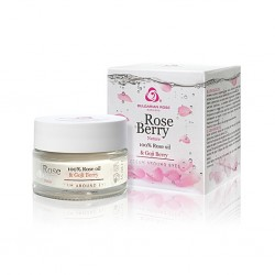 Contorno de ojos Rose Berry Nature con aceite de Rosas 15 ml