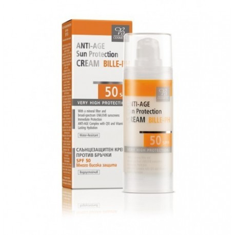 Crema Facial Anti - Edad con Protección Solar SPF 25 BILLE - PH 50 ml