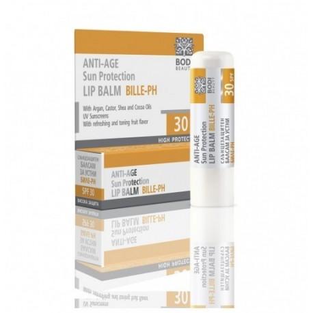 Bálsamo Labial con Protección Solar SPF 30 BILLE - PH 4 gr
