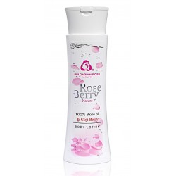 Loción corporal Rose Berry Nature con aceite de Rosas 200 ml