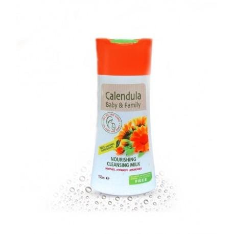 Leche Nutritiva y Limpiadora Caléndula para toda la familia 150 ml