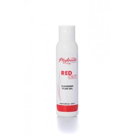 GEL FLUIDO LIMPIADOR FACIAL RED OUT 100 ML