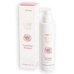 Champú nutritivo sin sulfatos Rose Kiss con aceite de Rosas 200 ML