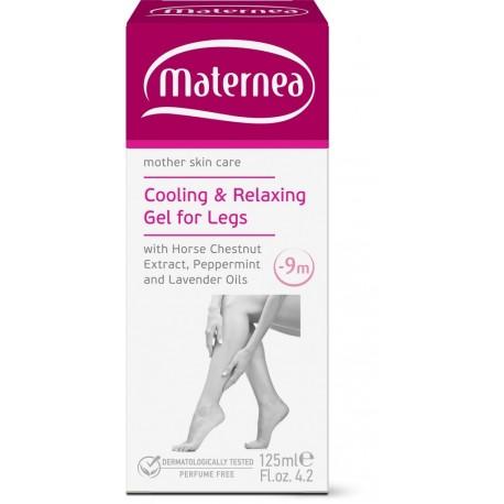 Gel relajante y refrescante para pies de embarazadas Maternea 125 ml