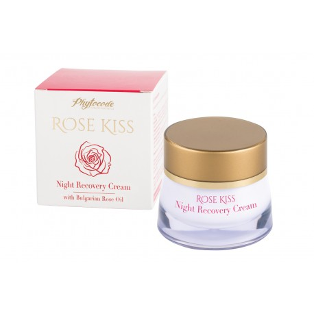 Crema de noche reparadora Rose Kiss 50 ML