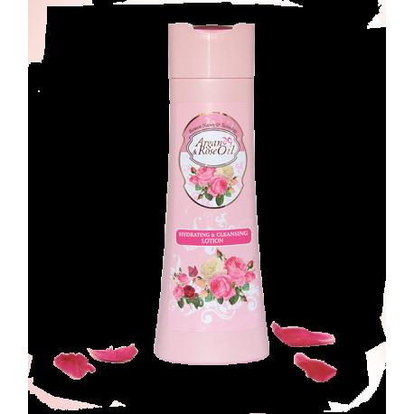 Loción Facial Hidratante y Purificante Argán y Rosa Ventoni 250 ml