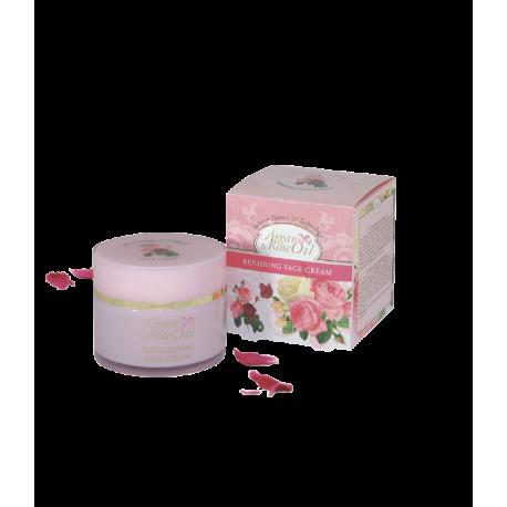 Crema Facial Reparadora Argán y Rosa 100 ml