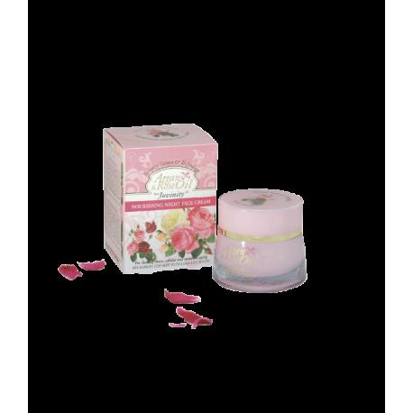Crema Facial Nutritiva de Noche Argán y Rosa 50 ml
