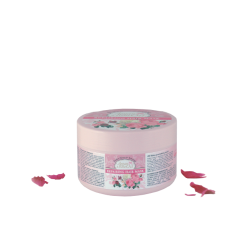 Mascarilla reparadora de cabello Argán Y Rosa con aceite de Rosas 350 ml
