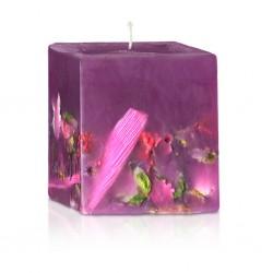 Vela aromatizante jardín de flores 75/75/80 mm