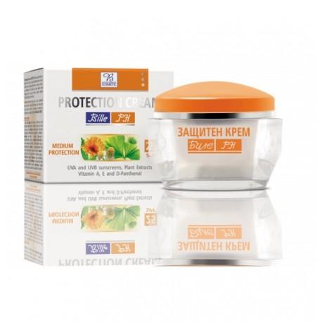 Crema Facial con Protección Solar SPF 25 BILLE - PH 50 ml
